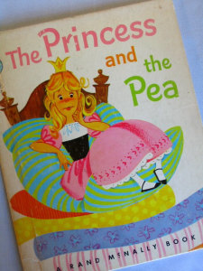 Cover of Princes and the pea